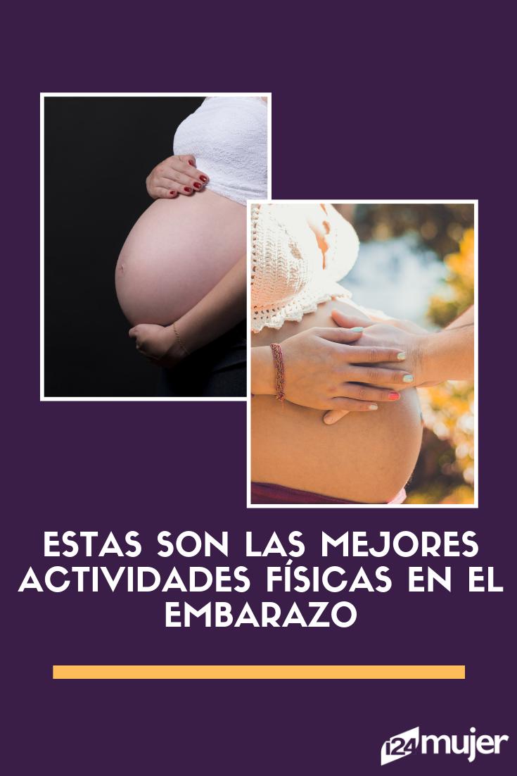 Estar embarazada no es excusa para dejar de hacer ejercicio, ¡Más bien todo lo contrario!  #belleza...