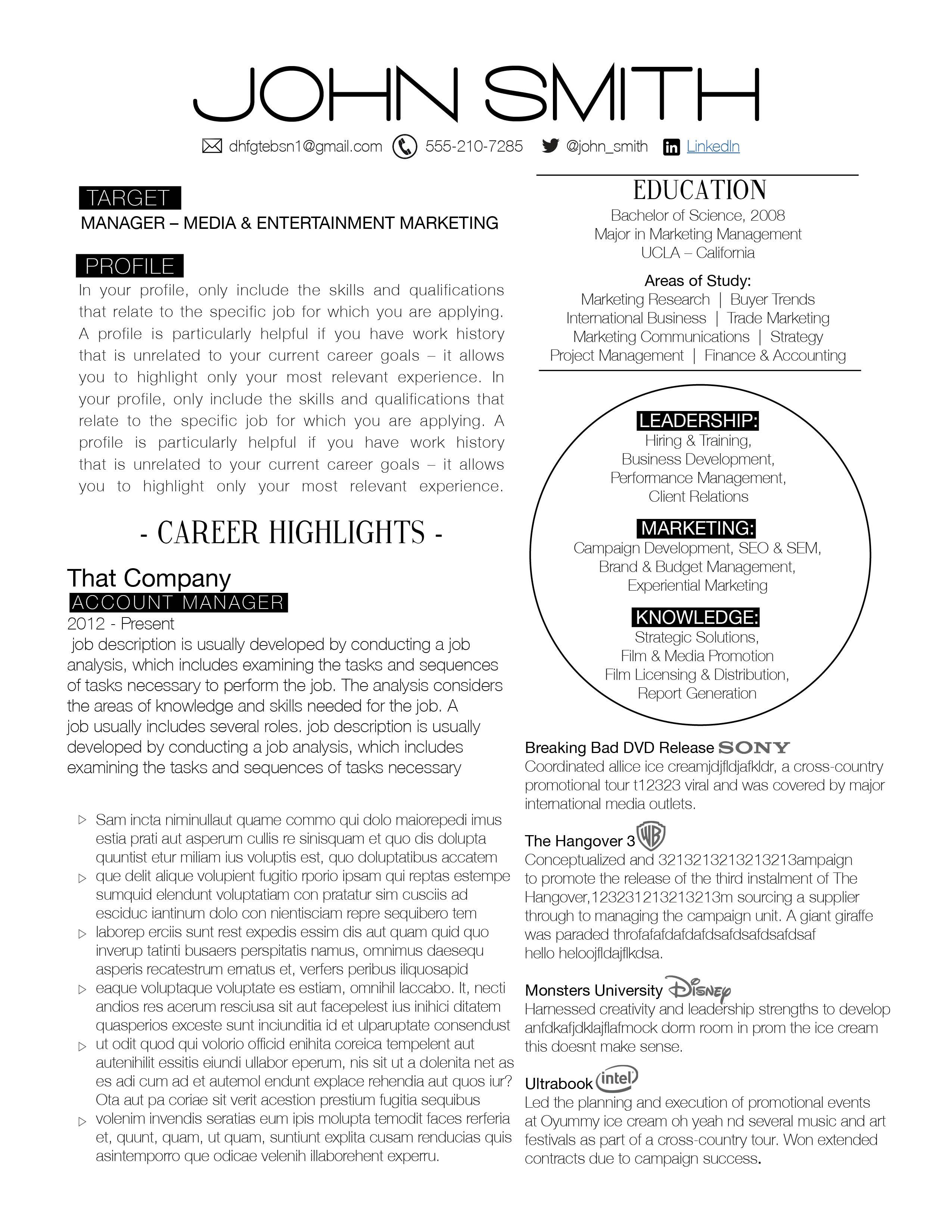 Male Resume, Female Resume, Corporate Resume, Modern Resume, Resume  Downloads