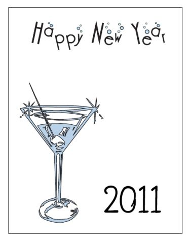 Printable New Years Party Invitation Template