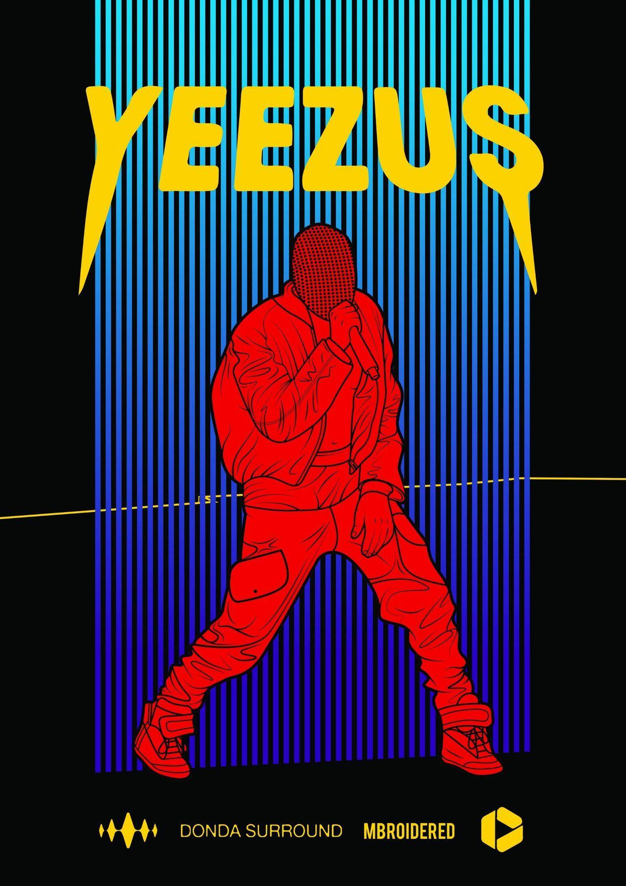 Yeezus Music Album Art Yeezus Kanye West Kids