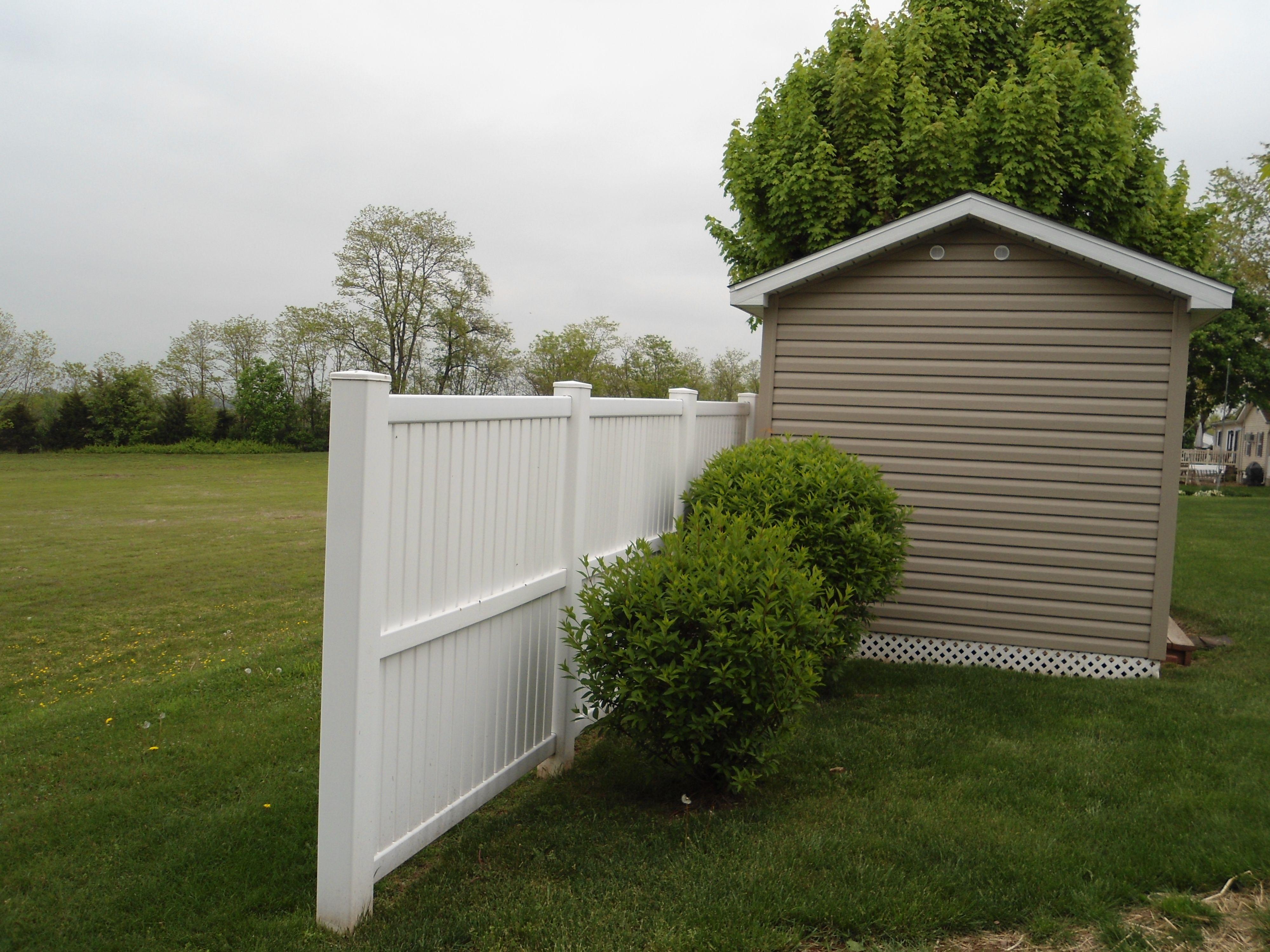 Maintenance Free Imperial Yard Fence | Garage doors, Parts ...