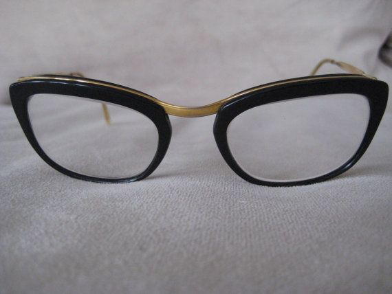 Vintage '60's Horn Rimmed Glasses (They may be look like Rita Skeeter's, but I love them!!)
