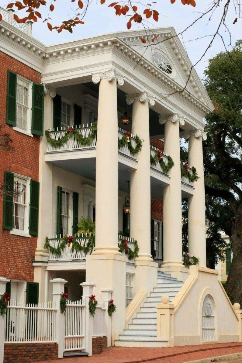 Choctaw Hall in Natchez, Mississippi Southern