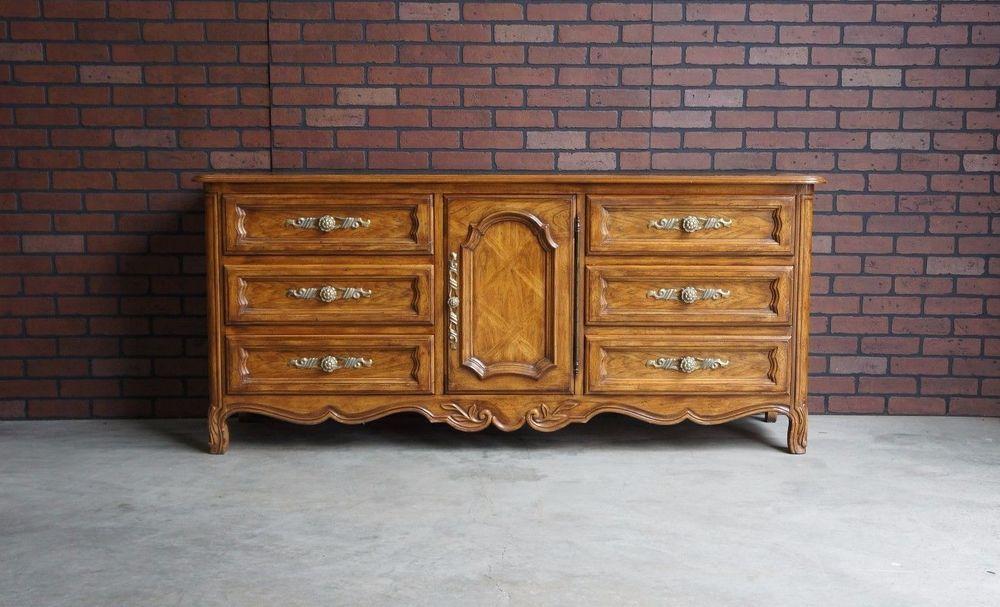 Dresser / French Provincial Dresser / Cabernet II Dresser By Drexel Heritage