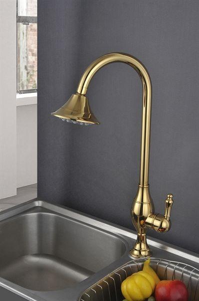 Buy Antique Brass Titanium Kitchen Faucets (HM3019) with Lowest ...