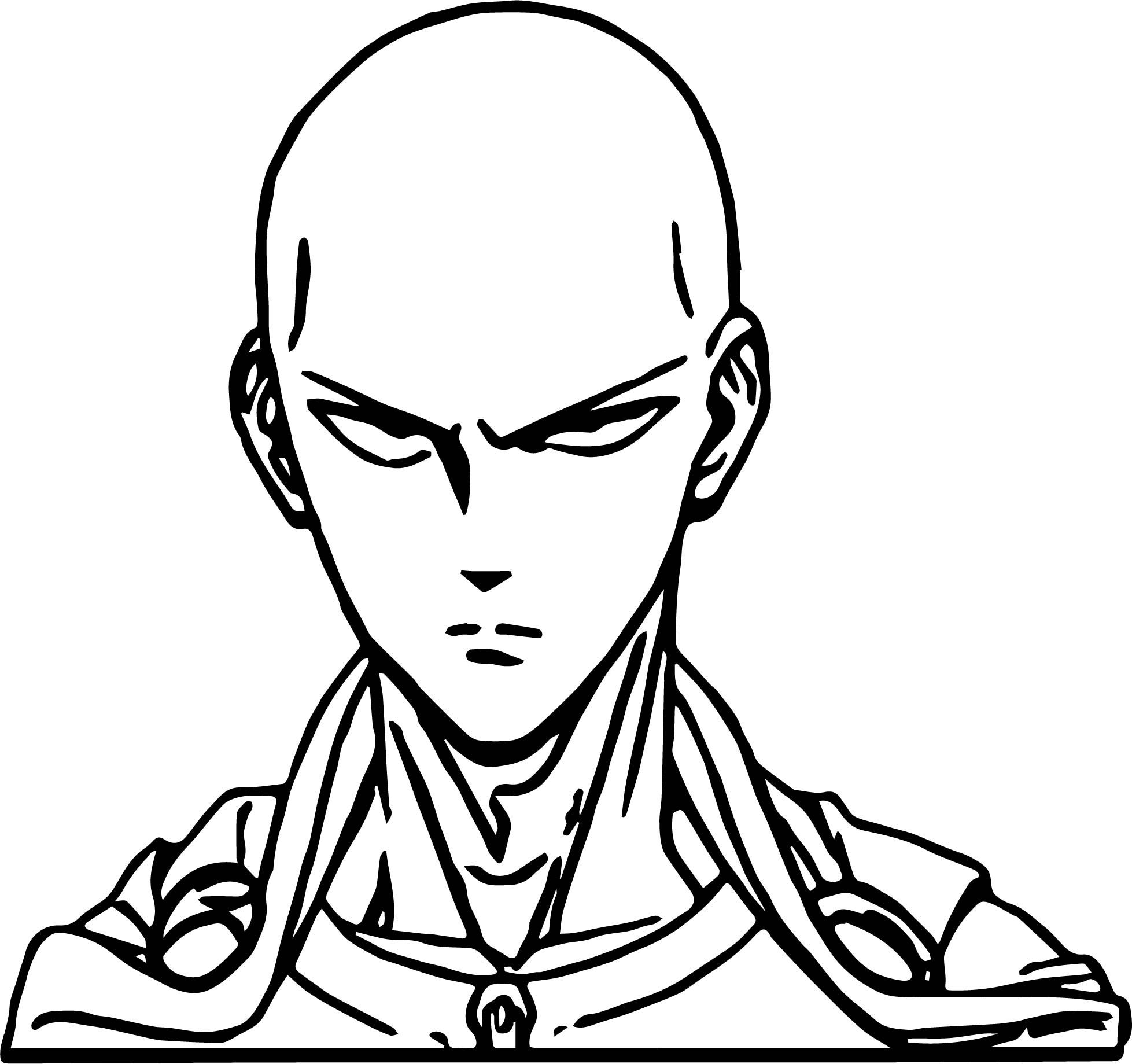 one punch man coloring pages cool One Punch Man Anime Character Design Saitama Coloring Page  one punch man coloring pages