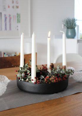 Wohnideen Weihnachtsdeko 1 advent solebich interior einrichtung weihnachtsdeko