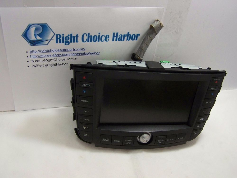 Acura TL Navigation GPS Screen Display Unit OEM Pinterest - 05 acura tl navigation unit