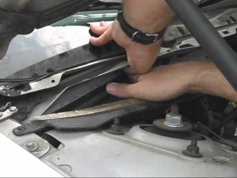how to change a 2003 ford explorer air filter