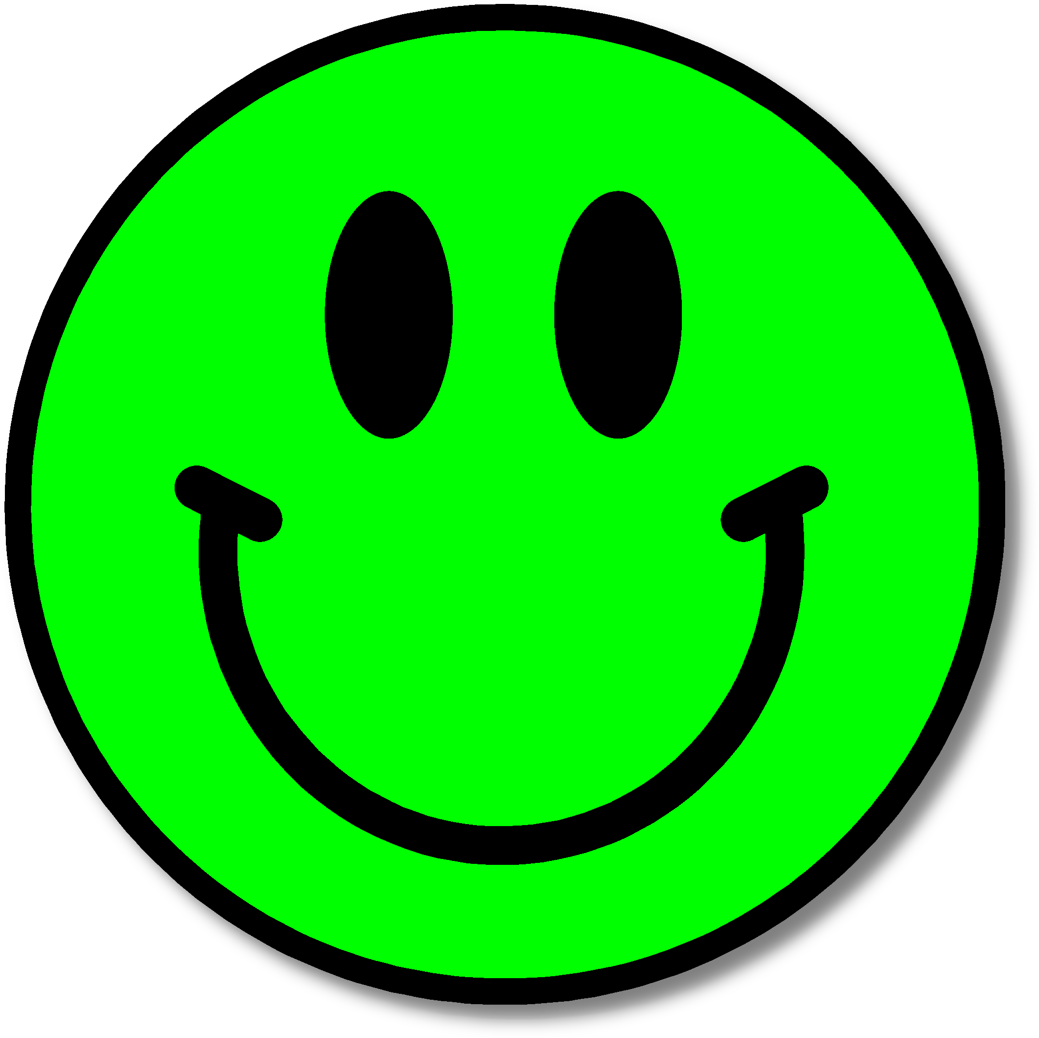 Happy face symbol