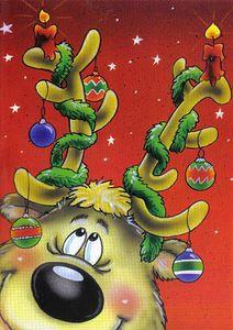 Christmas card 10 x 15, Finland