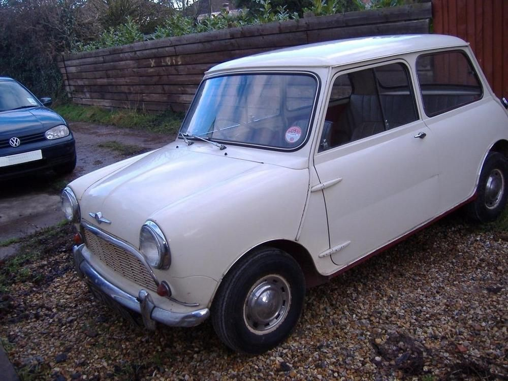 Ebay Austin Morris Mini 1960 Mk1 Barn Find Original Un Restored
