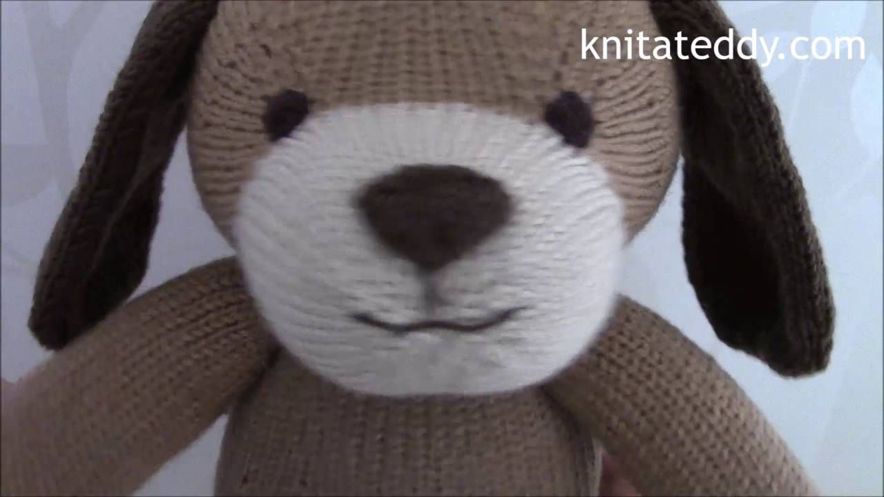 Sarah Gasson Knitting Tutorial 16 - Making up the dog's body