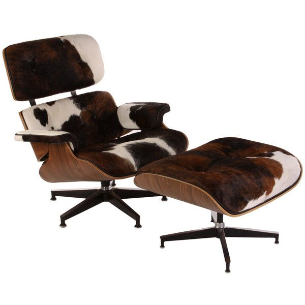 Replica Eames Lounge Chair And Ottoman Cowhide