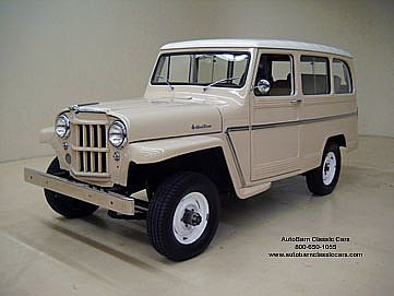 1962 Willys Overland Station Wagon Willys Wagon Willys Jeep Willys