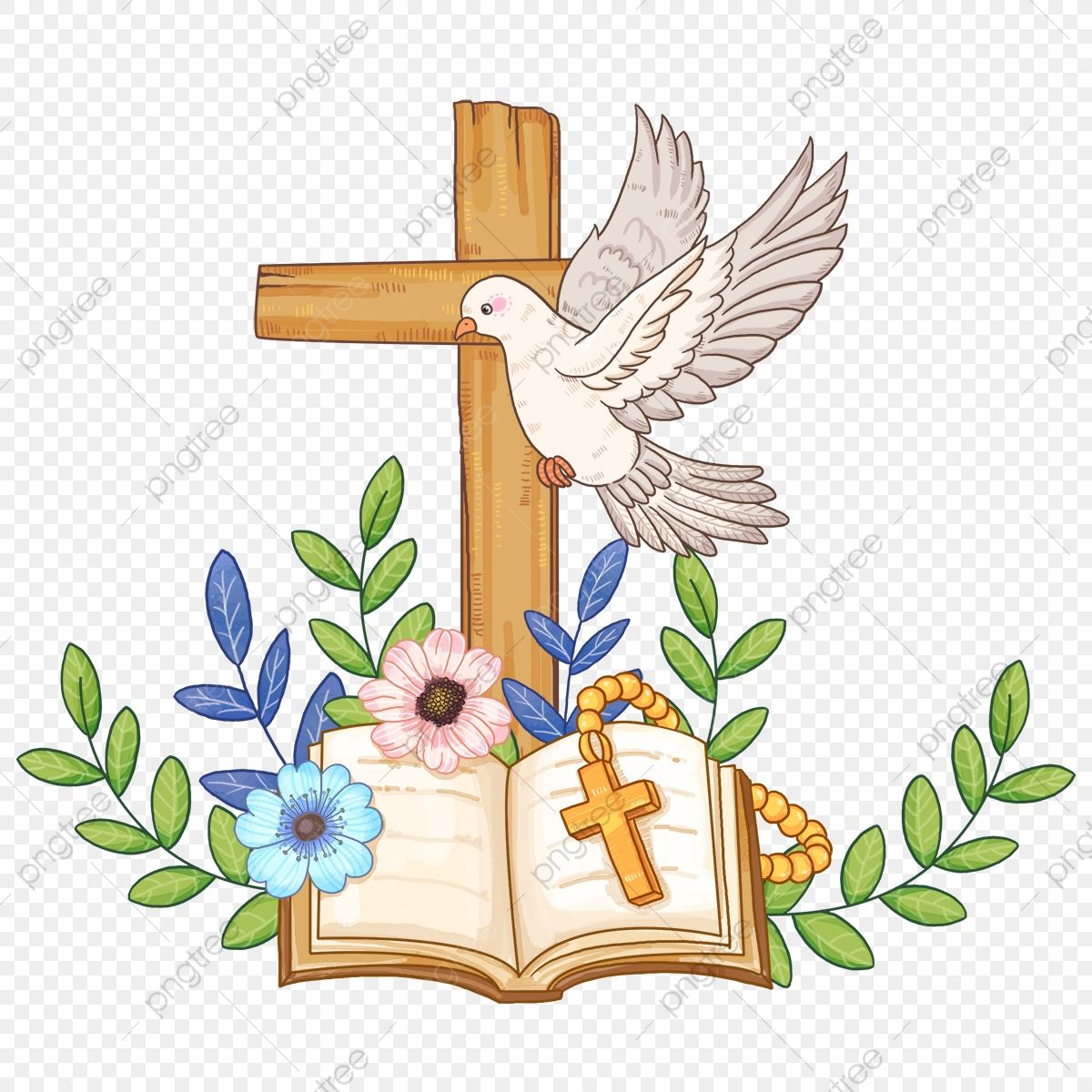 Pentecostes Cristiano Religioso Clipart De La Biblia Cruzar Cristiandad Png Y Psd Para Descargar Gratis Pngtree In 2021 Dove Logo Design Bible Clipart Christian Themes