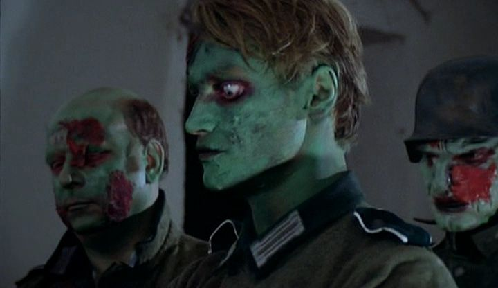 The colourful denizens of Zombie Lake (1981) Well worth watching if only for the extreeeeeeemly slow fight scene between two of the Nazi Undead.