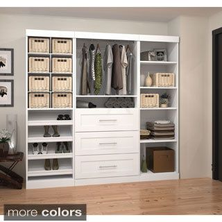 Storage Organization Overstock Com Shopping The Best Prices Online Closet System Closet Organizer Set Closet Organizing Systems