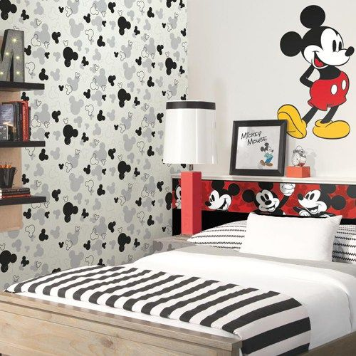 Disney Mickey Heads Wallpaper in 2019 | Wallpaper Books | Disney ...