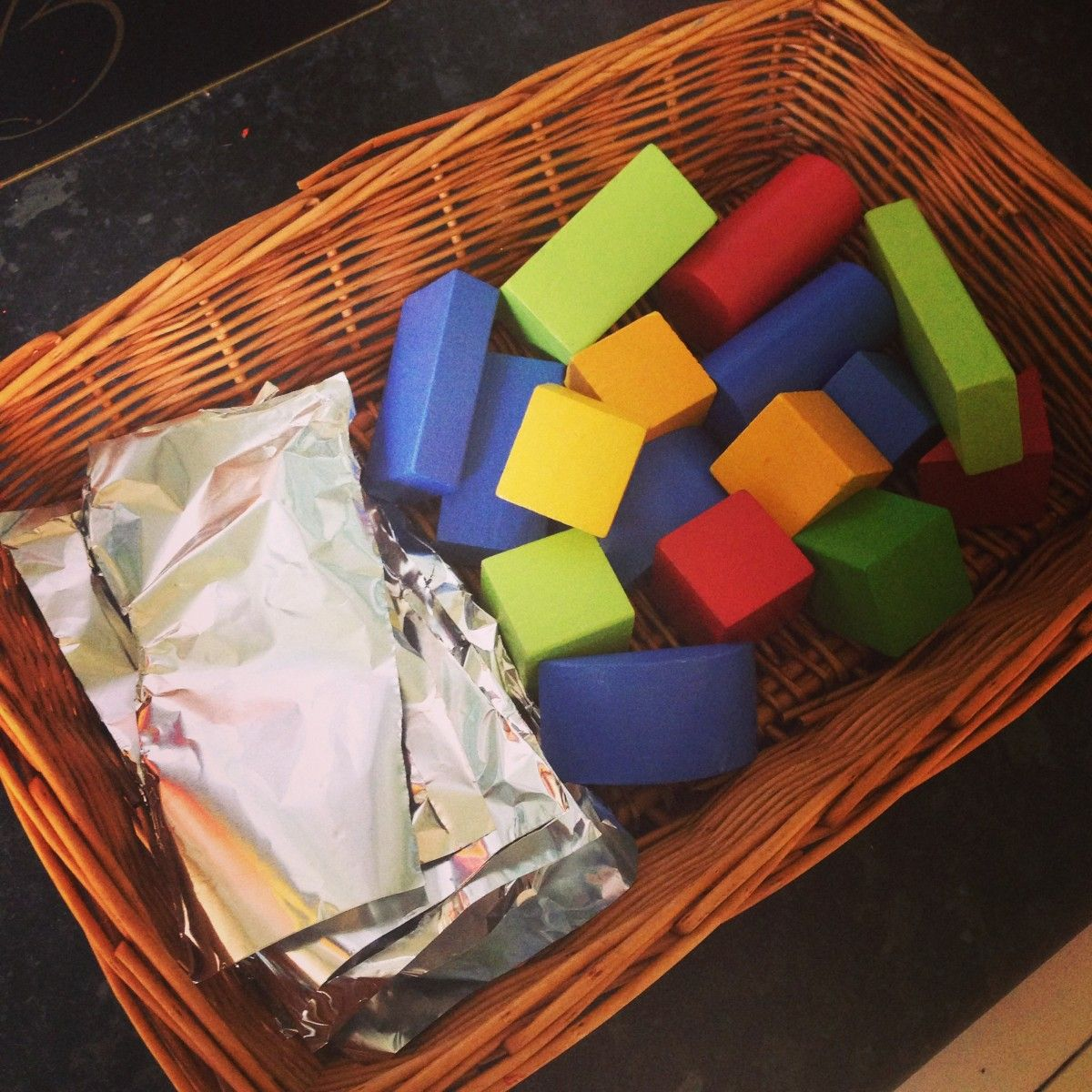 Invitation to Play with Blocks Space preschool, Infant