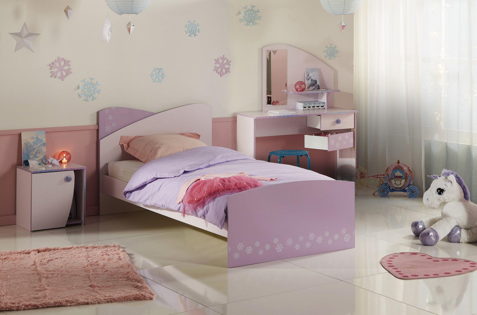 Cristal Twin Panel Bed Upholstered Bed Frame Furniture Twin Platform Bed