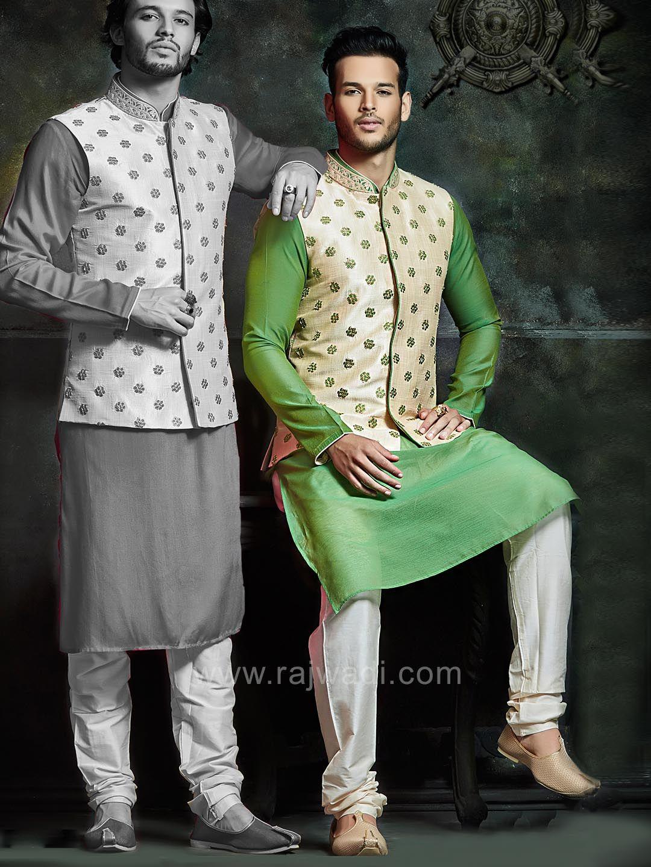 Zari and stone work nehru jacket rajwadi nehrujackets classic
