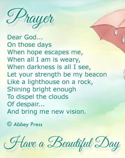 Inspirational morning poems