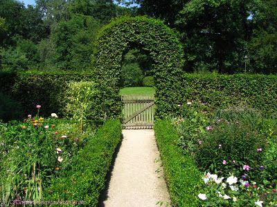 Bauerngartengemüsegarten Botanischer Gärten Münster Nrw Potager