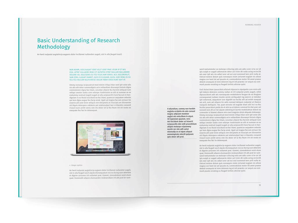 05-whitepaper-template-indesign | Marketing | Pinterest | White ...