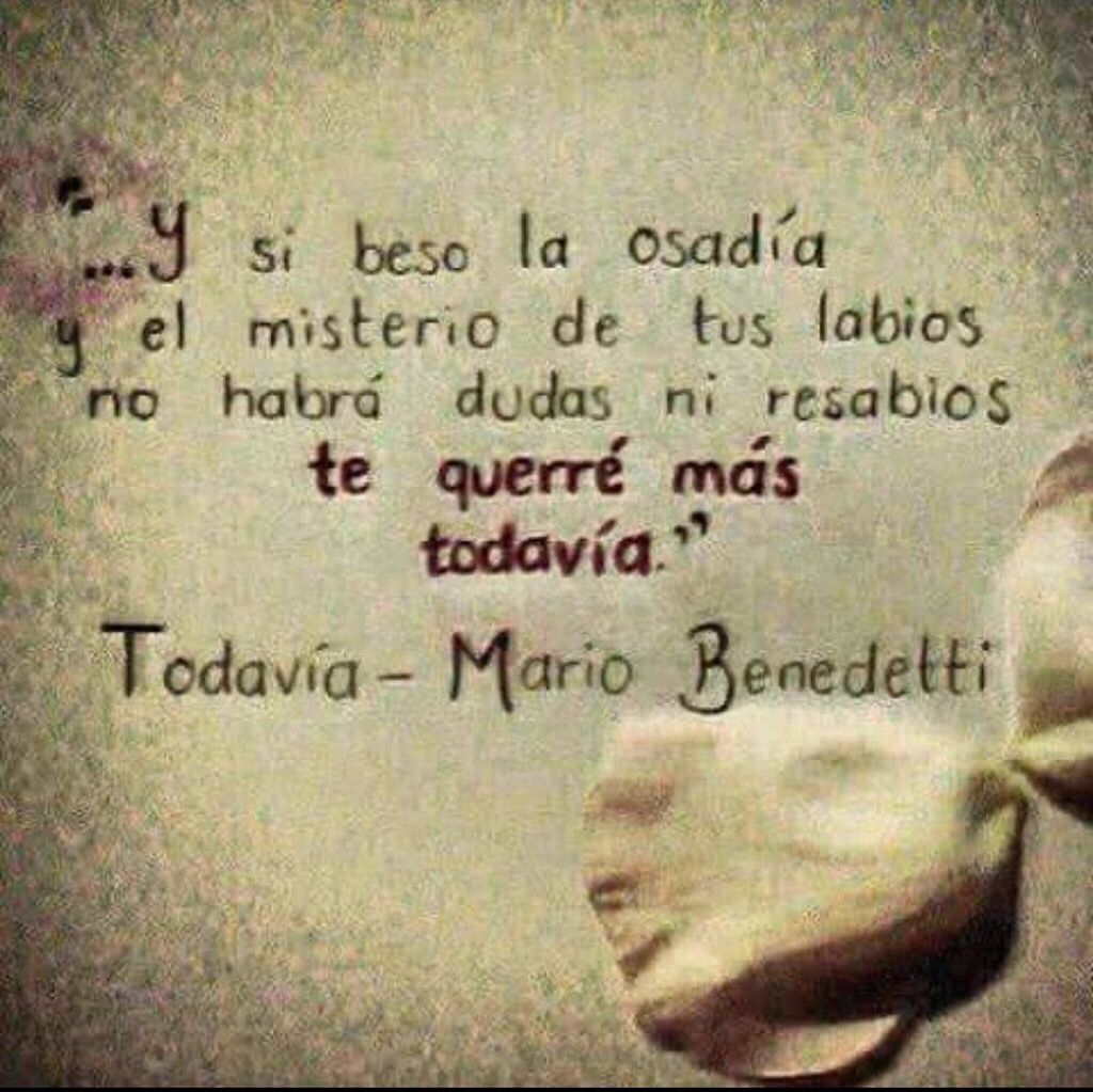 Todava Mario Benedetti