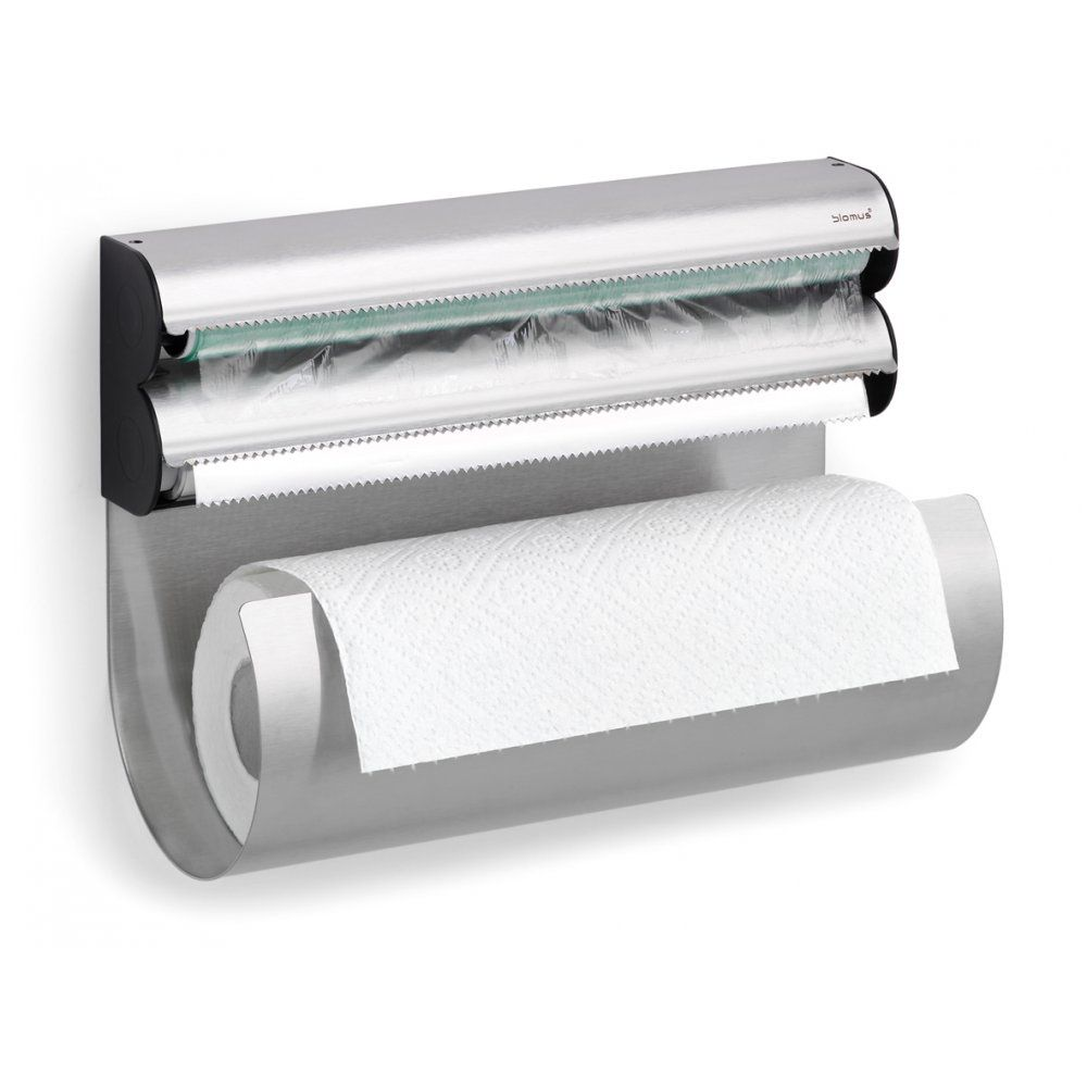 kitchen towel holder wall mounted. Blomus Wall Mounted Stainless Steel Kitchen Roll, Foil And Clingfilm Holder | My Girl Pinterest Kitchen, Mount Towel