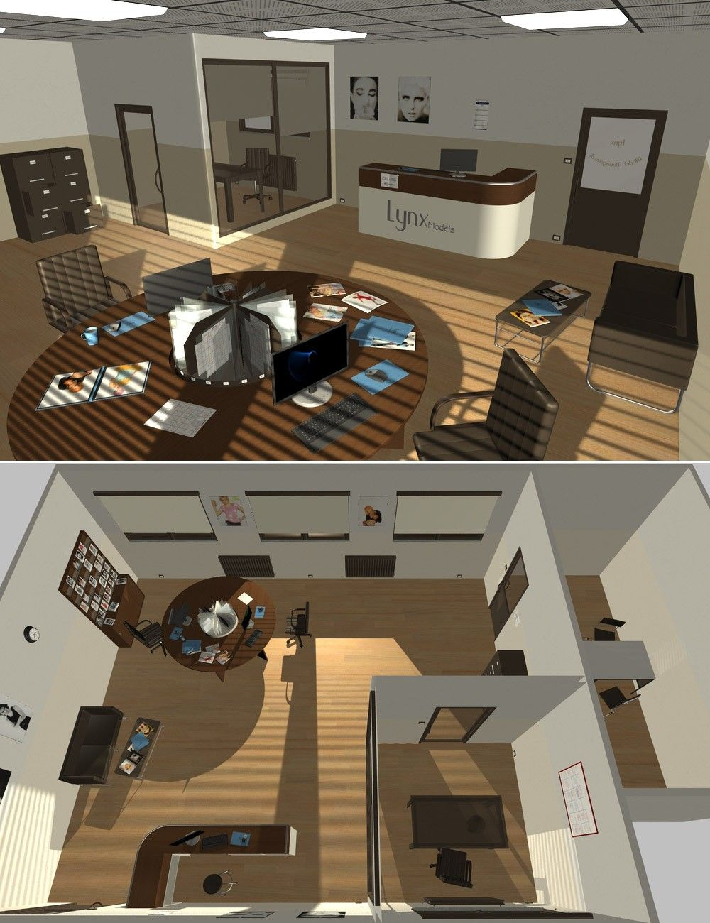 Interiors The Model Agency 3d Models And 3d Software By Daz 3d