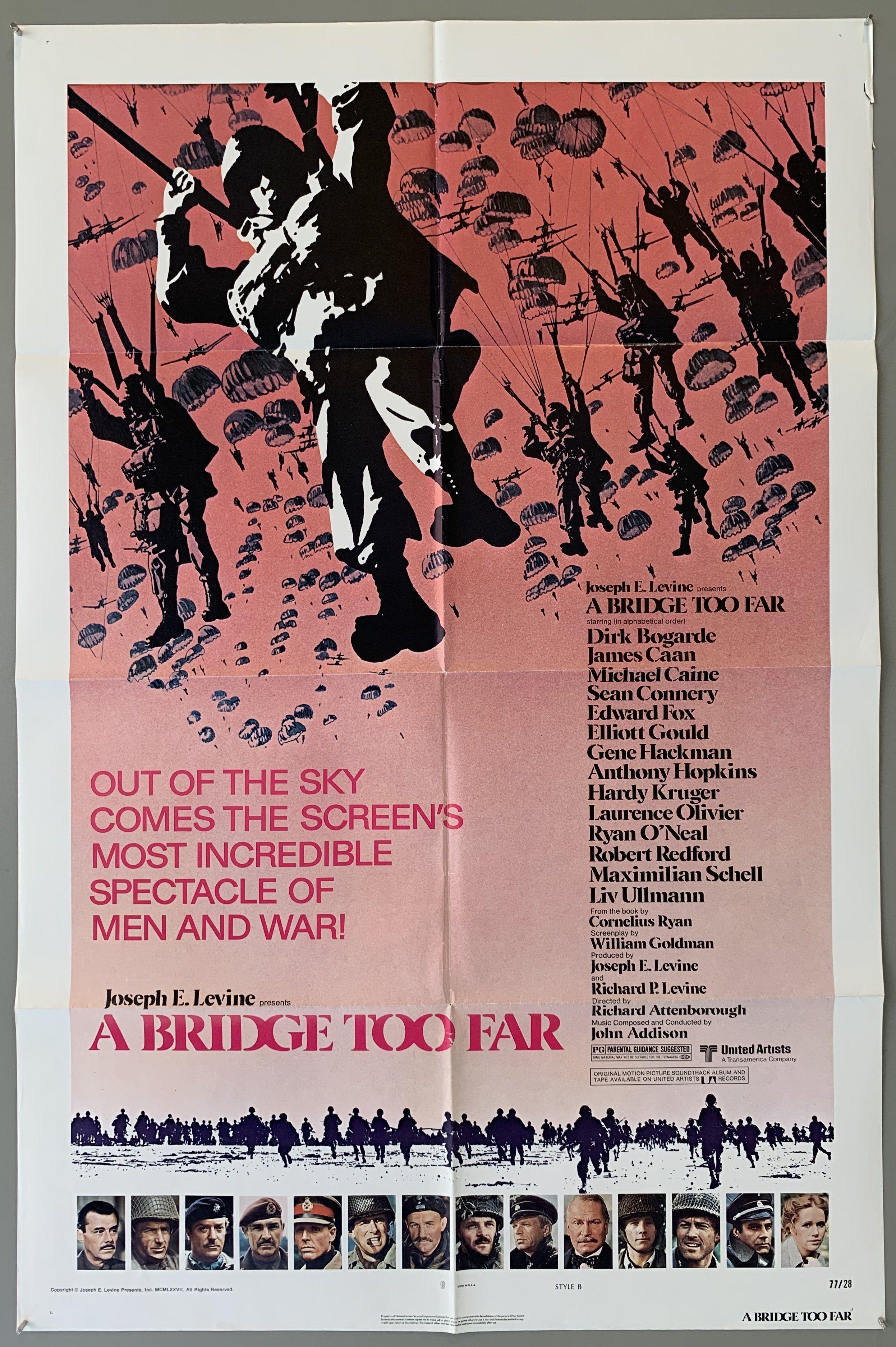 A Bridge Too Far - 41 x 27 / 1977