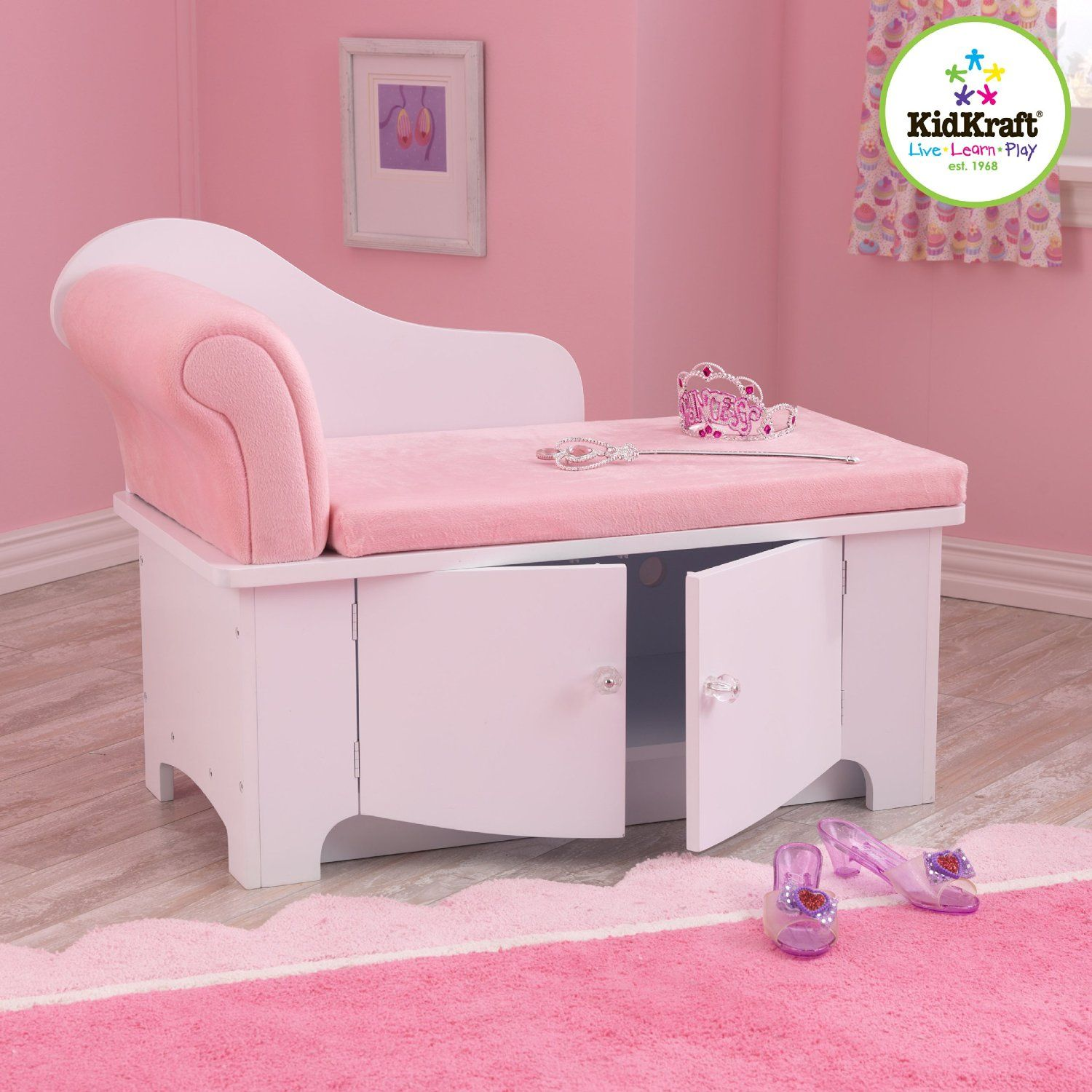 Remarkable Amazon Com Kidkraft Girls Princess Chaise Lounge Home Gmtry Best Dining Table And Chair Ideas Images Gmtryco