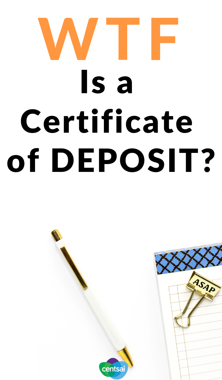 What Is A Certificate Of Deposit How Does It Work Saving Money