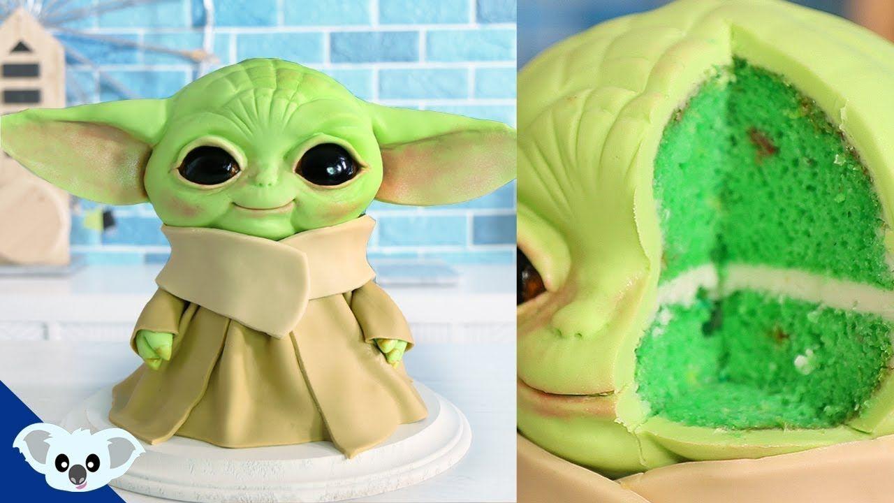 baby yoda cake ideas