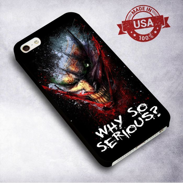 AwesomeJoker's Quote - For iPhone 4/ 4S/ 5/ 5S/ 5SE/ 5C/ 6/ 6S/ 6 PLUS/ 6S PLUS/ 7/ 7 PLUS Case And Samsung Galaxy Case