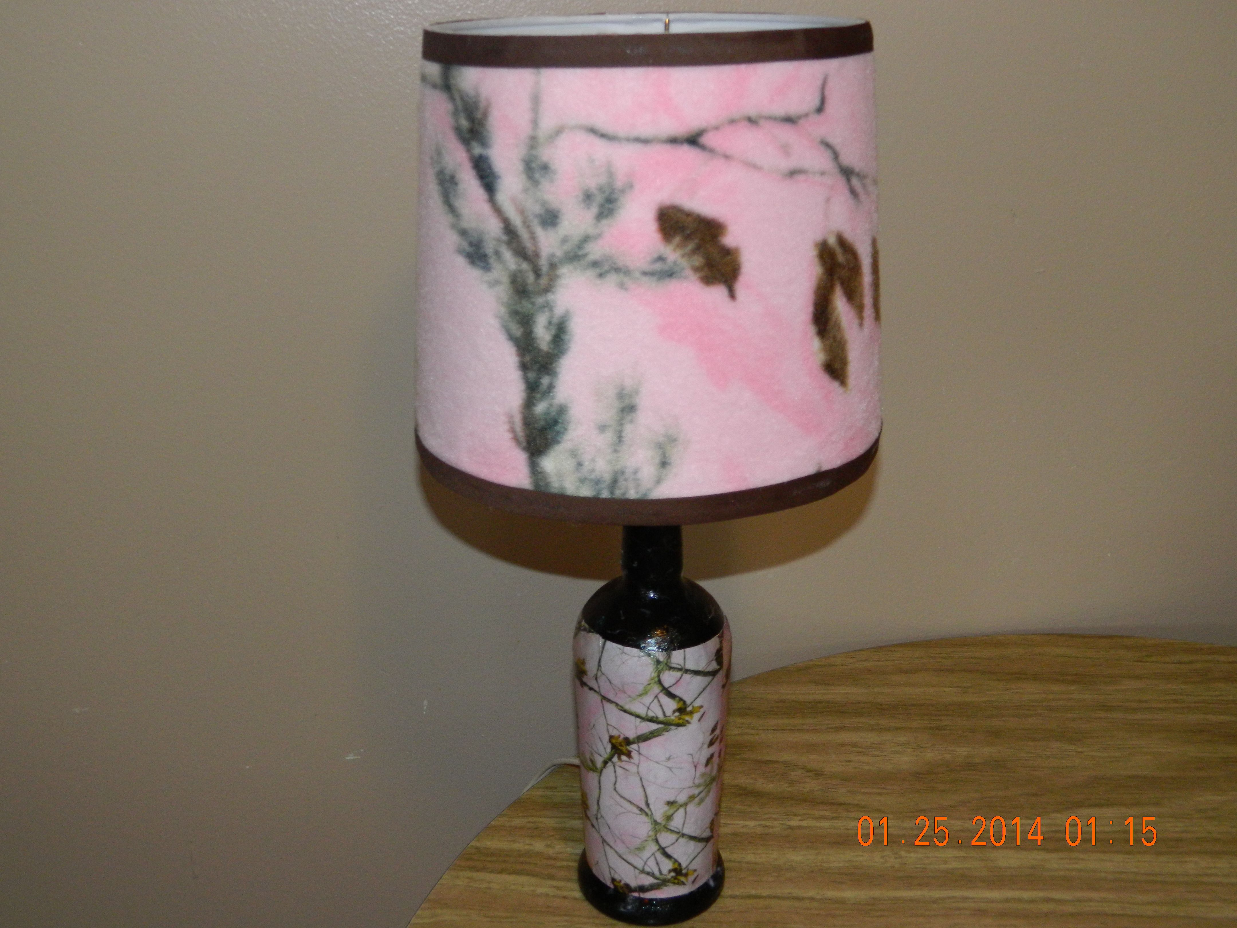 Pink Bedroom Lamps Pink Camo Lamp Camo Pinterest My House Pink Camo And House