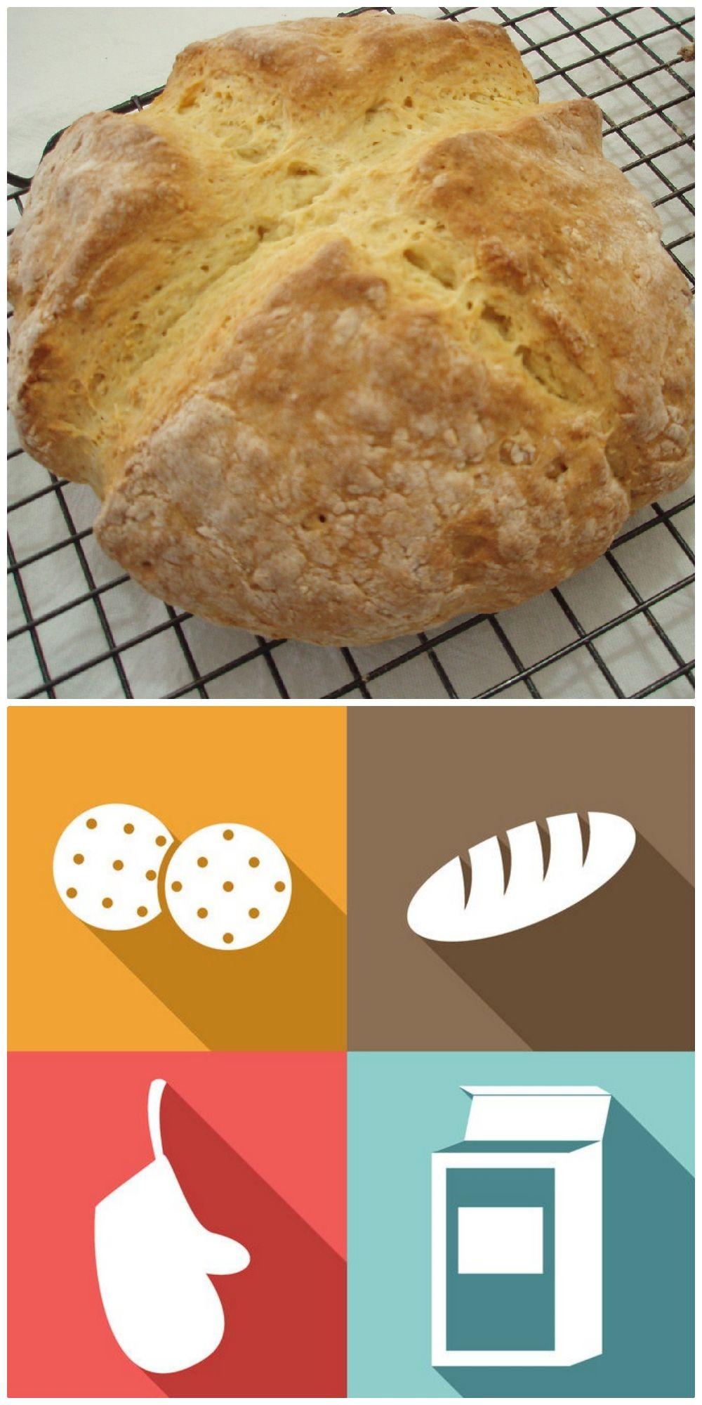 Authentic Irish Soda Bread Recipe Soda Bread Traditional Irish Soda Bread Bread