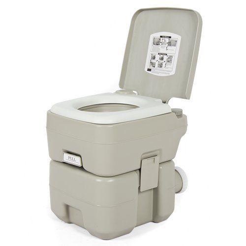Portable Toilet Camping Outdoor Travel Gear 5 Gal Flushing Porta Potty John!!!!!