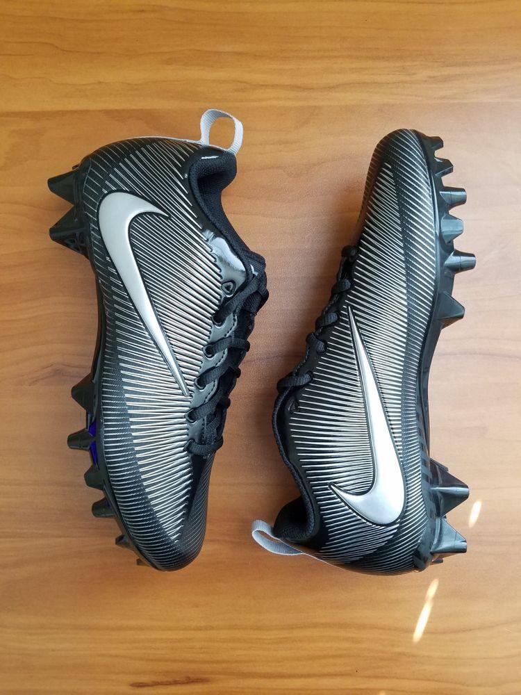 Nike Vapor Strike 5 TD Mens Size 7 Football Cleats 833407 001 Black