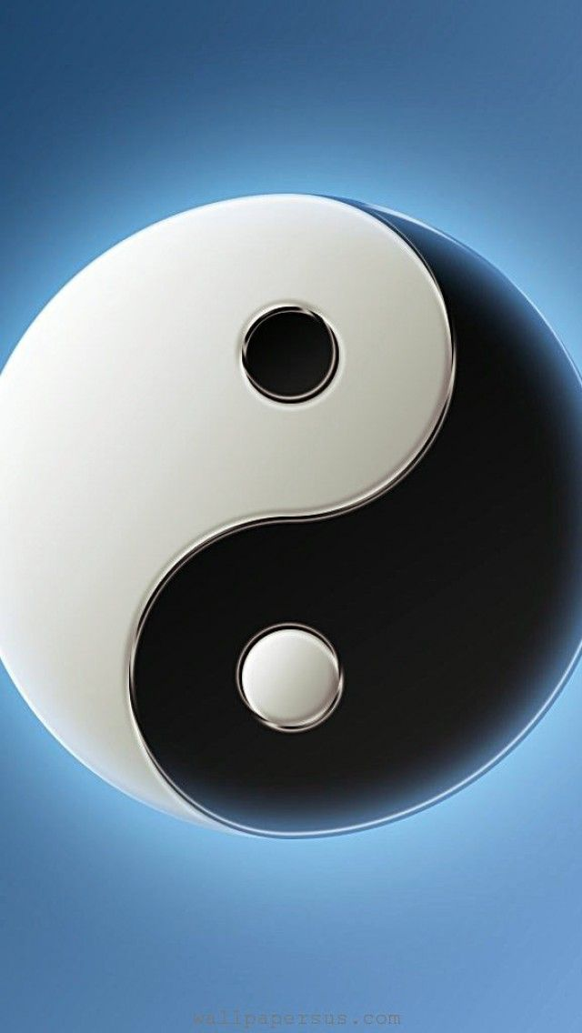 3d Yin Yang Symbol Logo Iphone Wallpapers Is A Fantastic Hd Wallpaper For Your Pc Or Mac And Is Available In High Defin Yin Yang Ying Yang Wallpaper Ying Yang