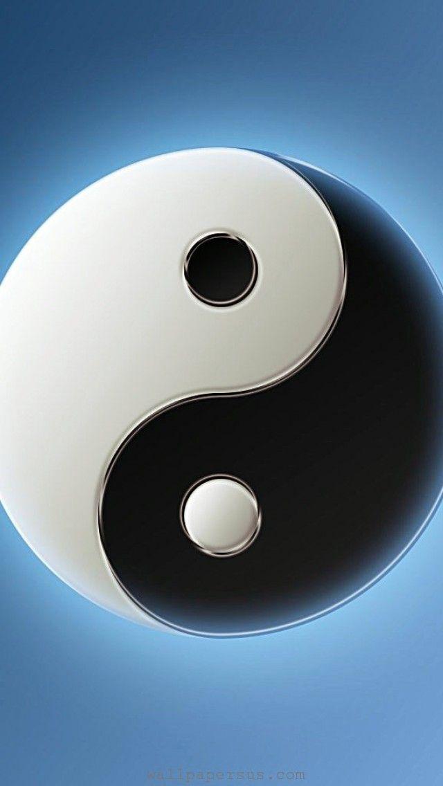 3D Yin Yang Symbol Logo IPhone Wallpapers Is A Fantastic