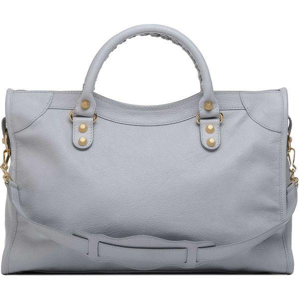 1f79e07f88 Balenciaga Giant City Gold Hamilton Ciment, found on #polyvore. #bags  #borse #women