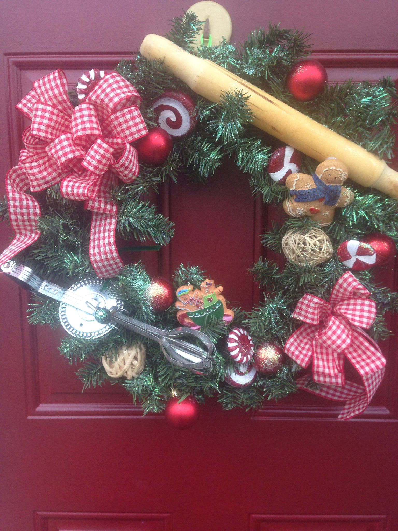 Antique Baking Wreath $53 on Facebook: Wreaths by Cherie