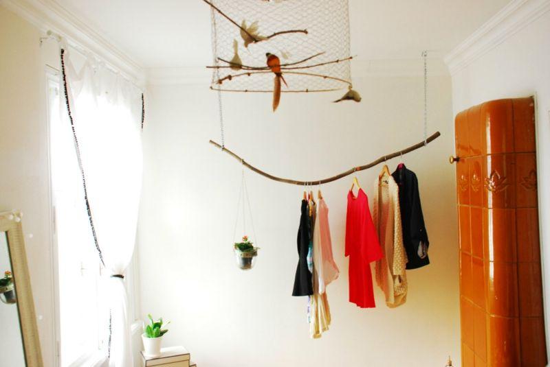 Inspirational Selbstgebaute Kleiderst nder ersetzen erfolgreich den Kleiderschrank