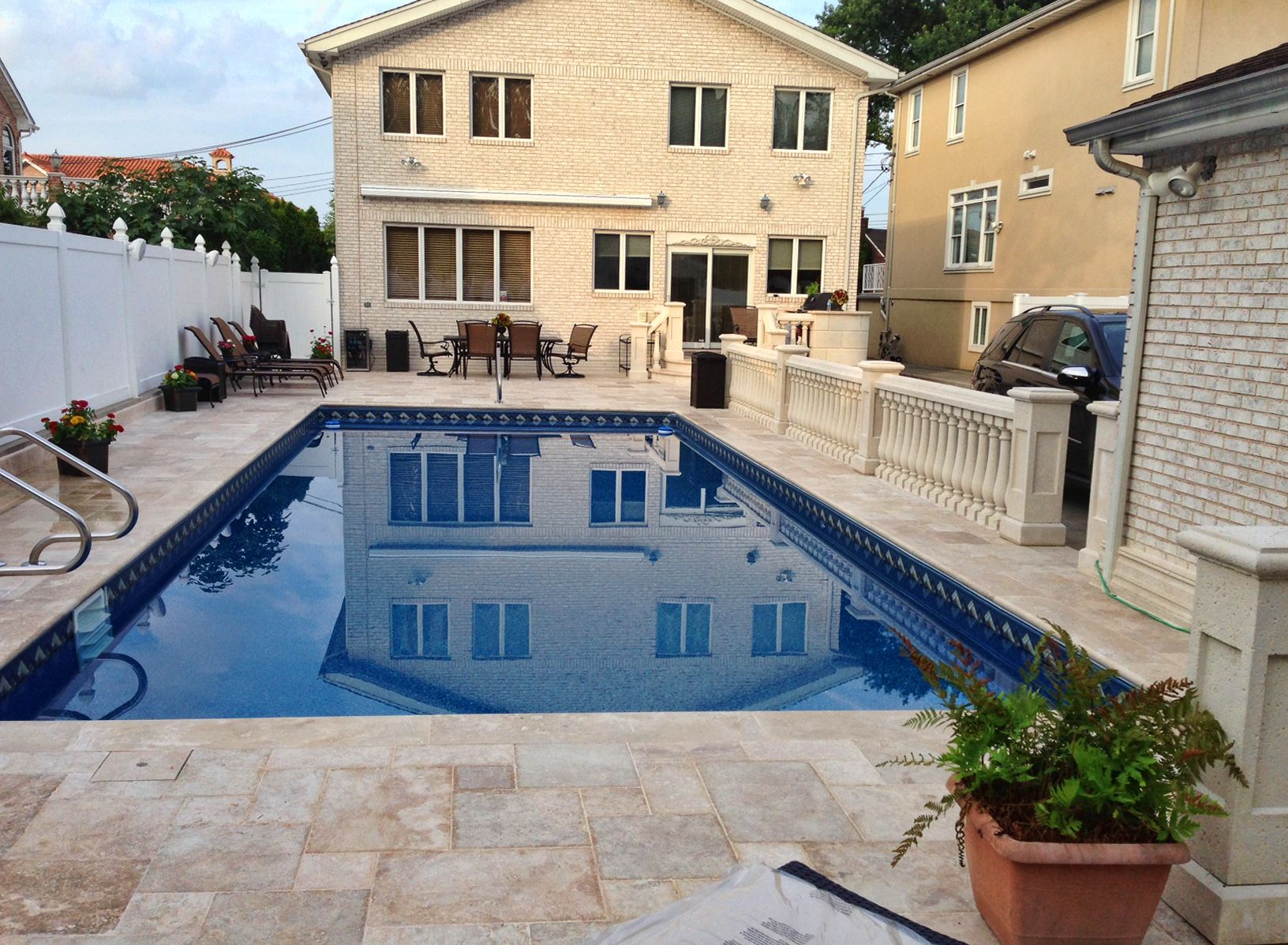 beautiful inground pool for the backyard of this home in queens