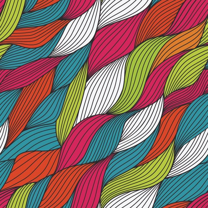 Abstract Colorful Yarn Background Vector Free Free