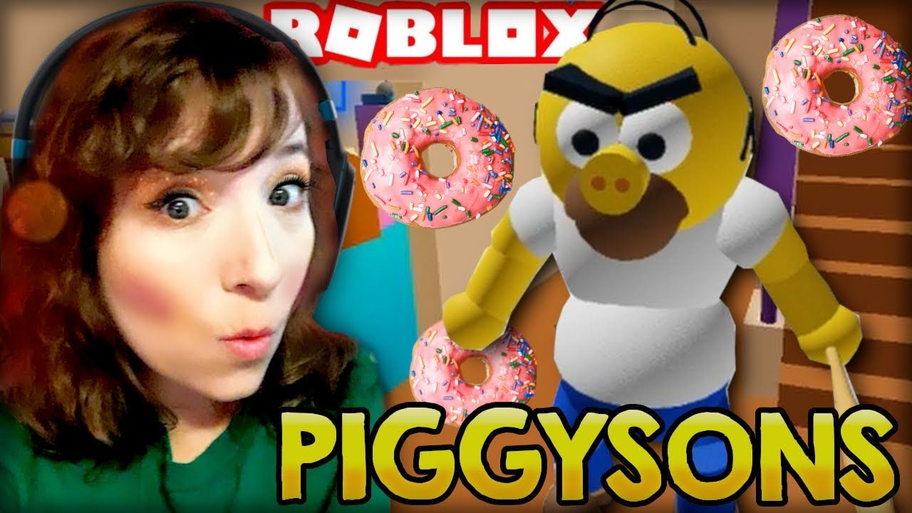Roblox Beat Up Doll Game Roblox Piggysons Piggy The Simpsons Escape Game In 2020 Escape Game The Simpsons Roblox