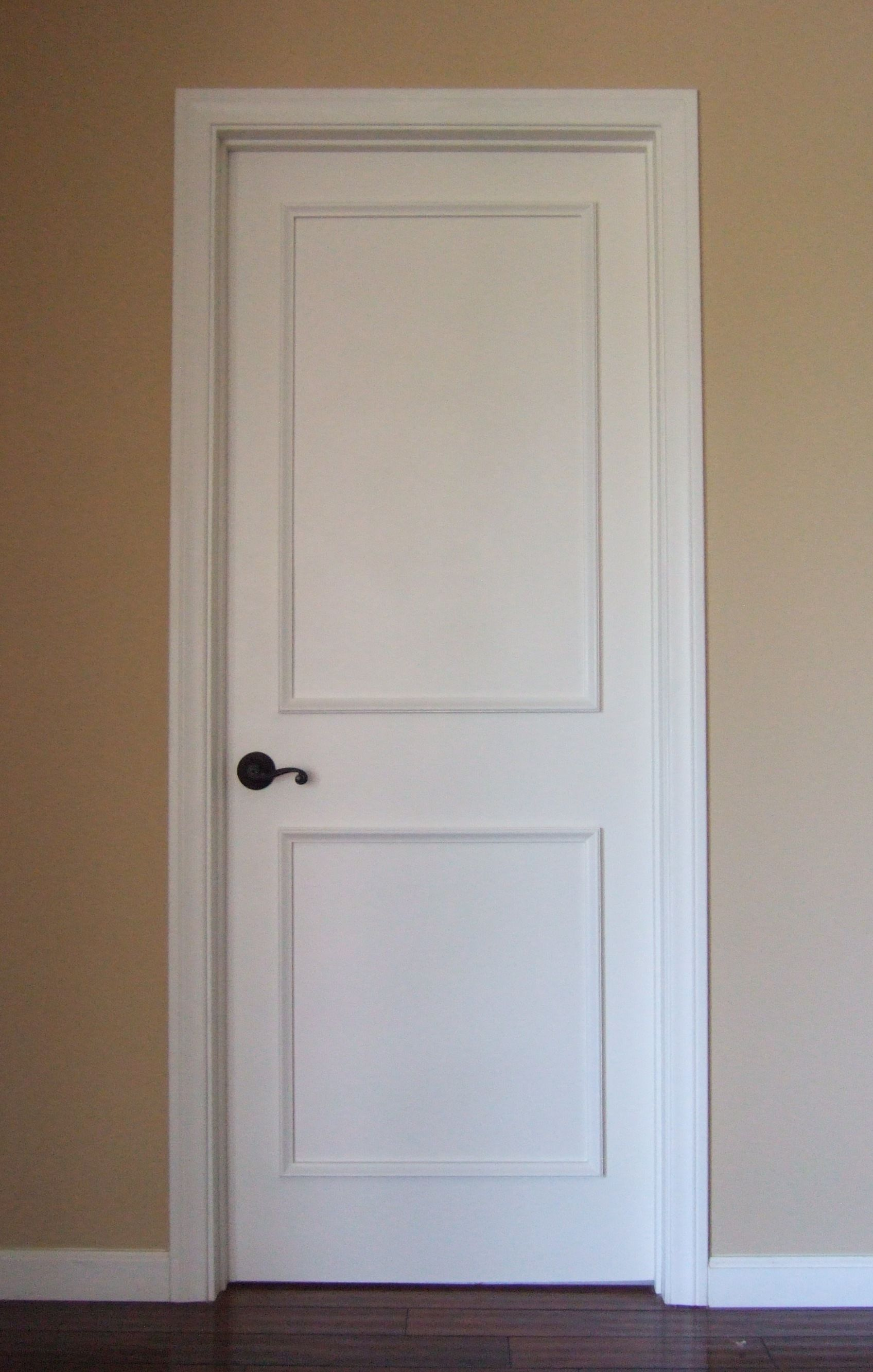 Interior window trim kit - Two Panel Raised Door Moulding Kit Traditional Interior Doors Los Angeles Luxe Architectural